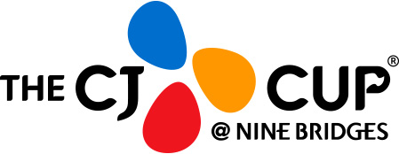 CJ CUP NINE BRIDGES logo