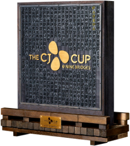 2017 THE CJ CUP Trophy