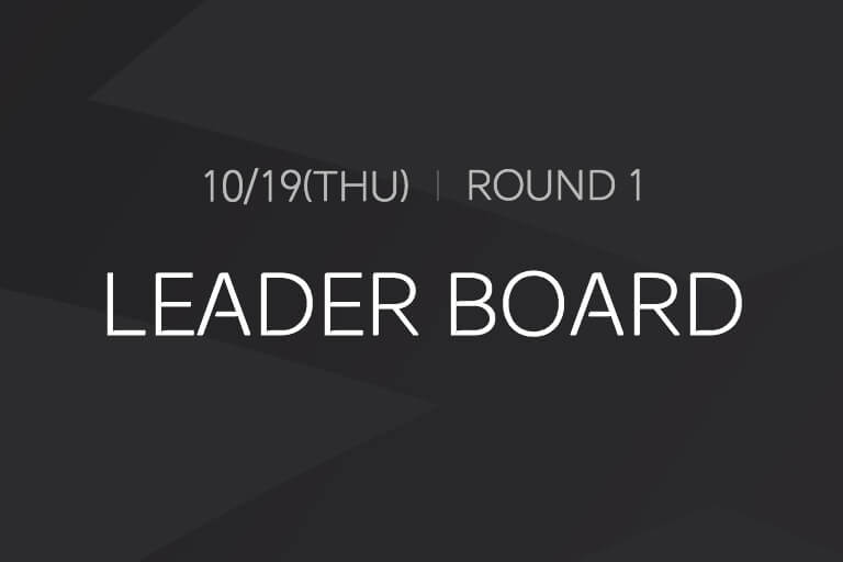 [Opening Round] LEADER BOARD