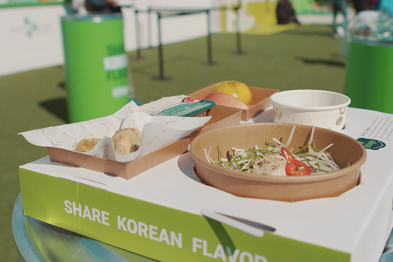 bibigo offers a healthy Korean food culture to people around the world.