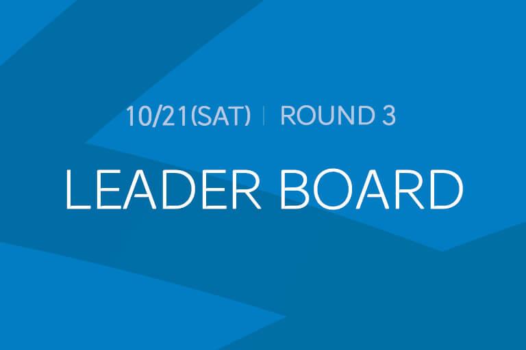 [Round 3] LEADER BOARD