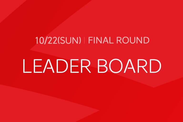 [Final Round] LEADER BOARD