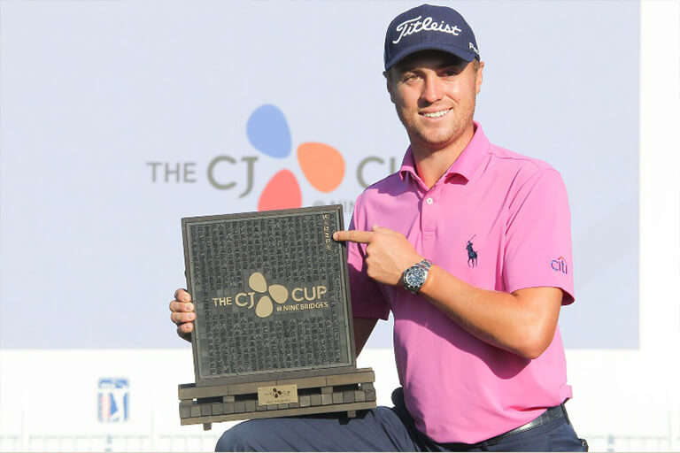 [2017 Recap] Justin Thomas takes home the one-of-a-kind trophy