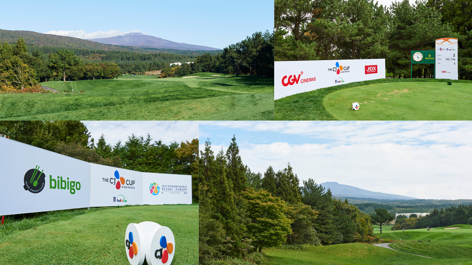 The atmosphere at Korea''s first PGA TOUR regular season event: THE CJ CUP @ NINE BRIDGES