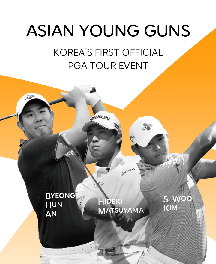 The competition between Korean and Japanese young guns at THE CJ CUP!!