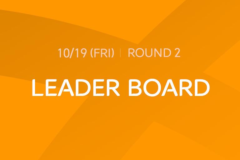 [2018 Round 2] LEADER BOARD