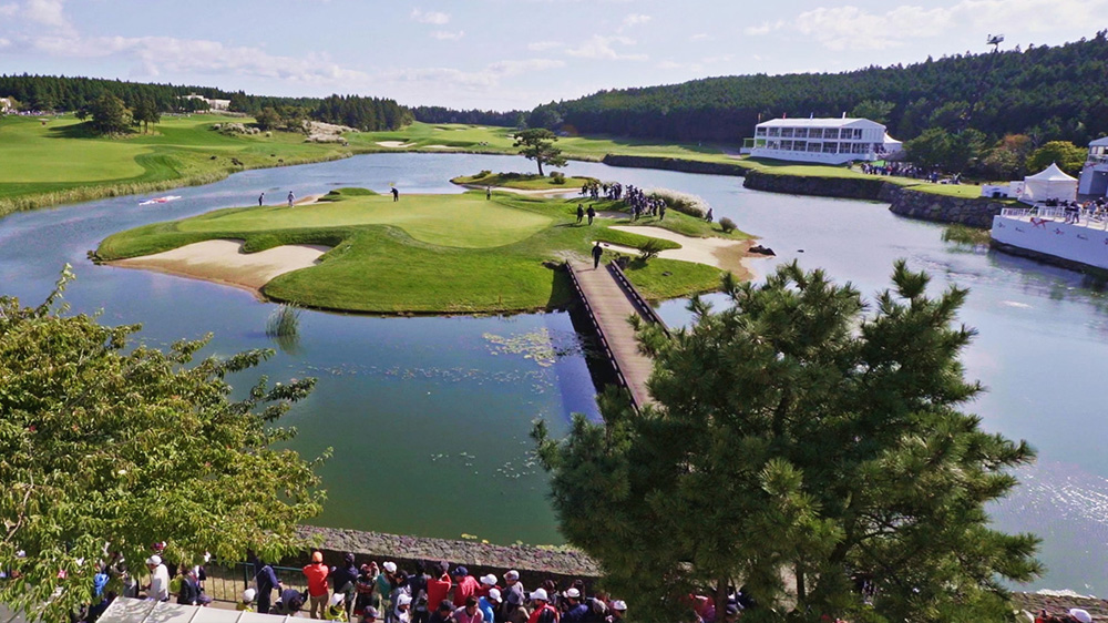The Great Journey of 2017 THE CJ CUP @ NINE BRIDGES