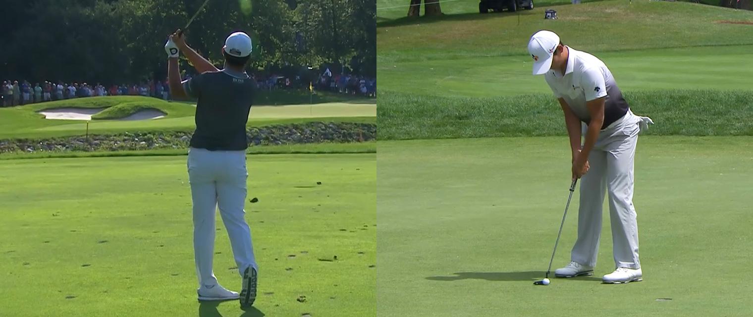 PGA 투어 RBC 캐나다 오픈에서 준우승을 차지한 김민휘, 안병훈 프로