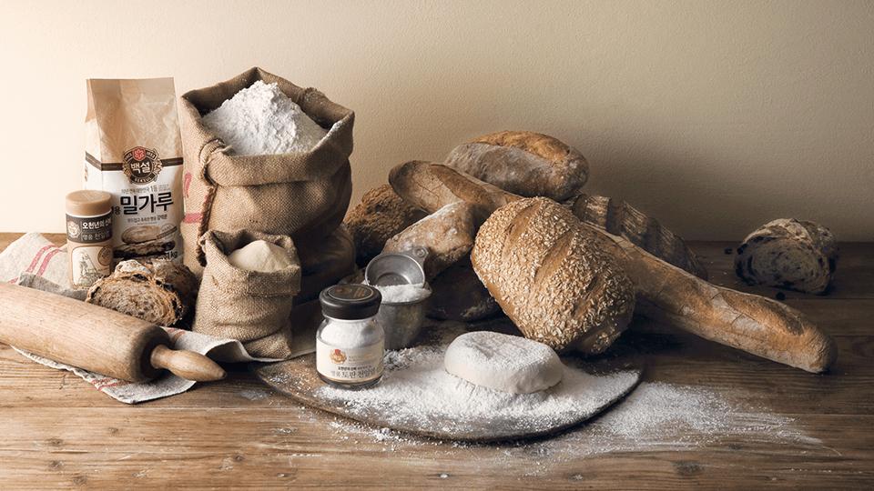 좋은 재료로 빵을 만드는 끊임없는 진화를 계속하다.