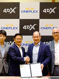CGV 4DX, 시네마콘서 잇단 계약 ''낭보''로 영토 확장 가속화