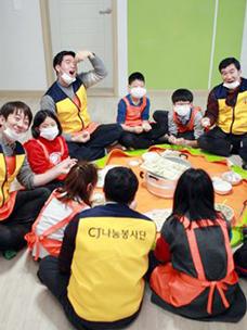 CJ그룹, 임직원 2,000여 명 ''공부방 건강한 여름나기'' 봉사 실시