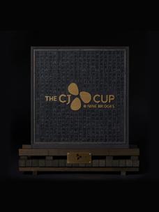 ''THE CJ CUP @ NINE BRIDGES'' 한글날 맞아 우승 트로피 공개