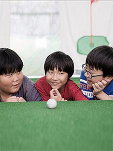 """""""골프가 좋아요!"""" """"골프 선수가 되고 싶어요!"""" CJ도너스캠프가 꿈을 함께 이뤄갑니다!"""