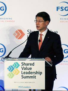 CJ대한통운, 美서 '실버택배 공유가치' 전파