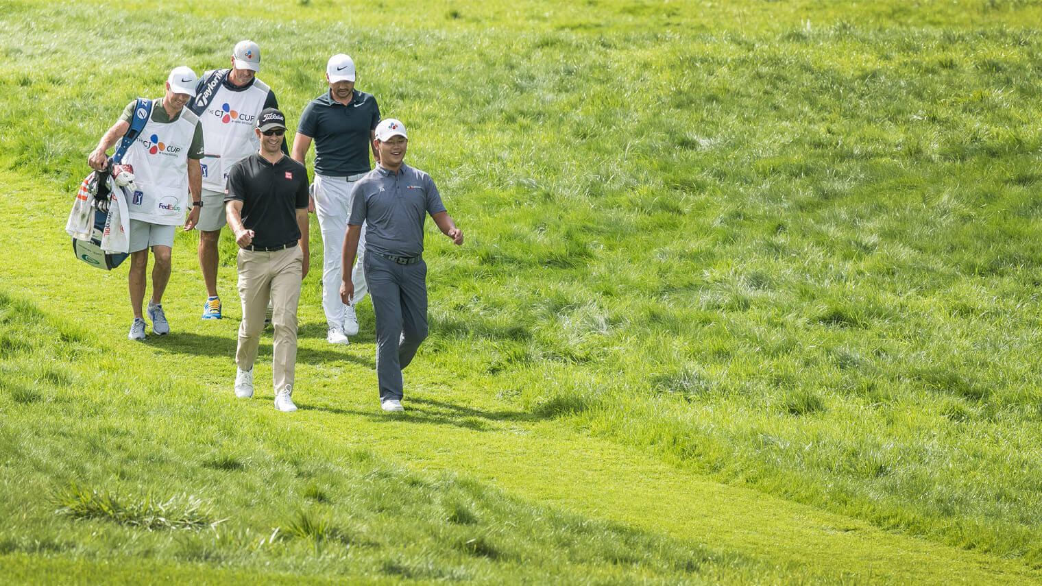 아담스콧, 제이슨데이, 김시우, PGA TOUR STAR