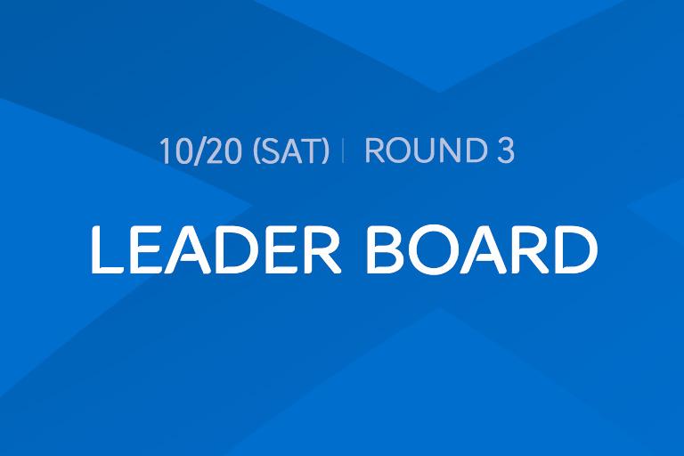 [2018 Round 3] LEADER BOARD
