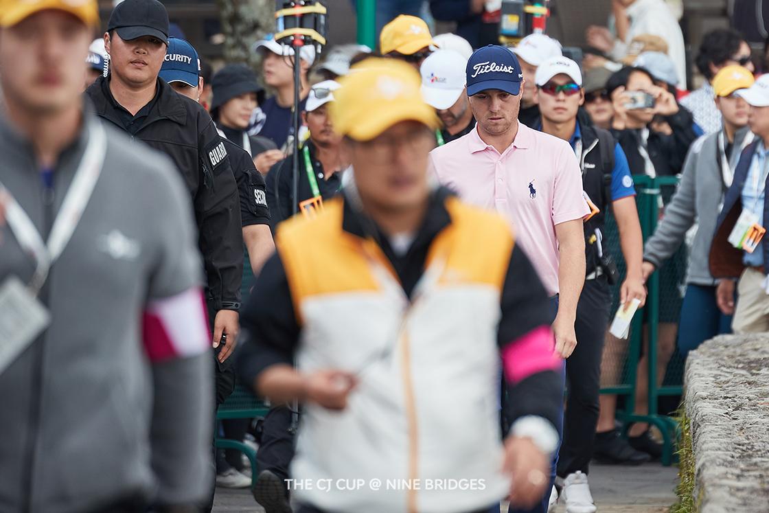 챔피언 저스틴 토마스, 4일간의 기록