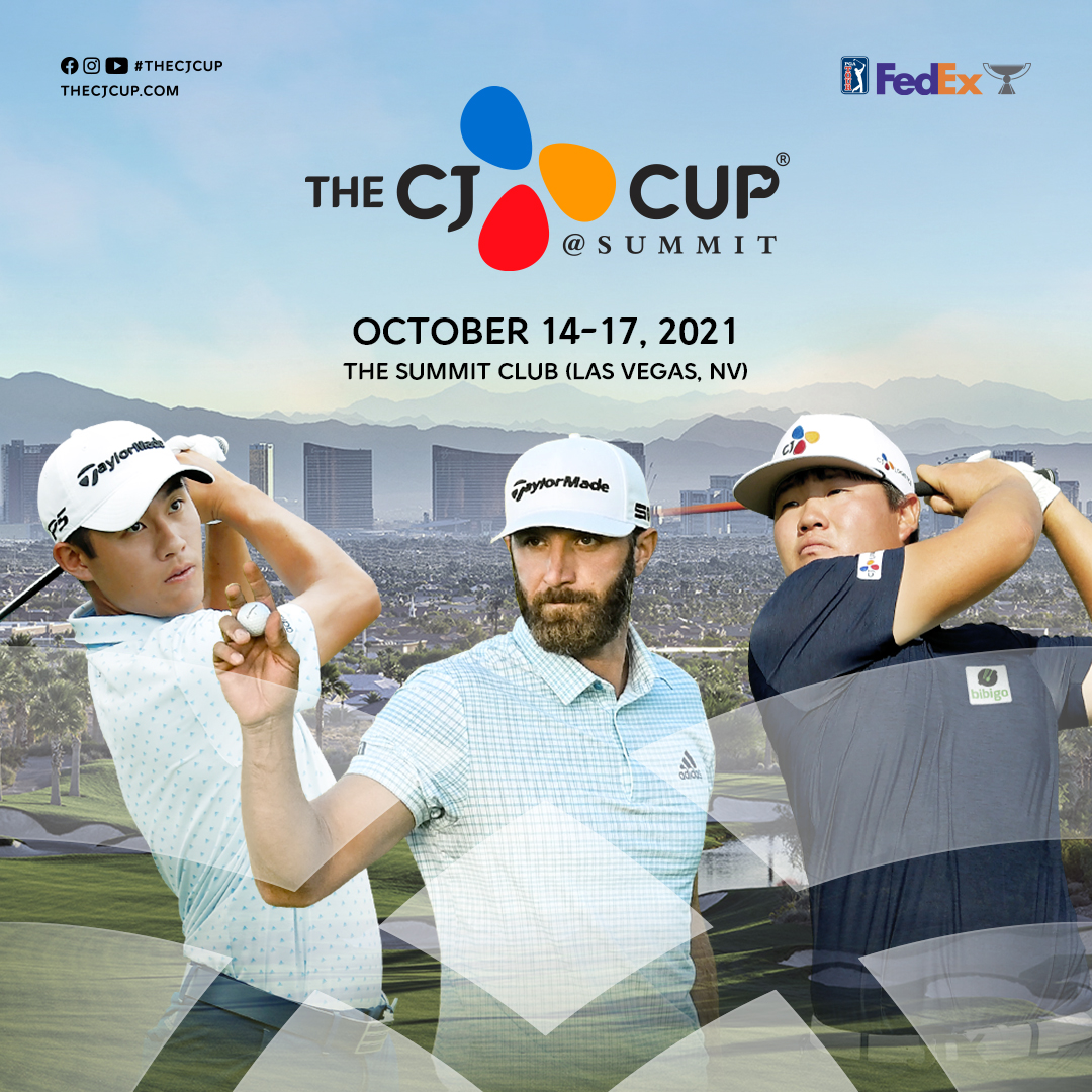 Dustin Johnson, Collin Morikawa, and Ironman Sungjae Im have committed to compete in 2021 THE CJ CUP