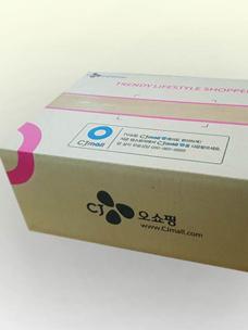 CJ ENM 부문, 홈쇼핑 업계 최초 친환경 종이 포장재 도입