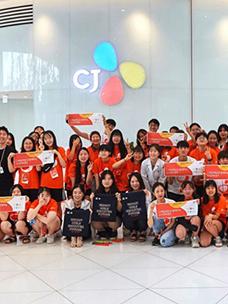 소녀과학캠프에 참가한 학생들