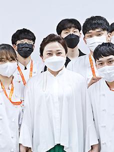 배우 김나운님과 대학생 봉사단