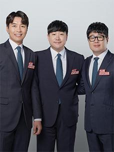 배성재 캐스터 & 이동국-서형욱 해설위원