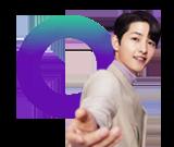 CJ온스타일 모델 송중기