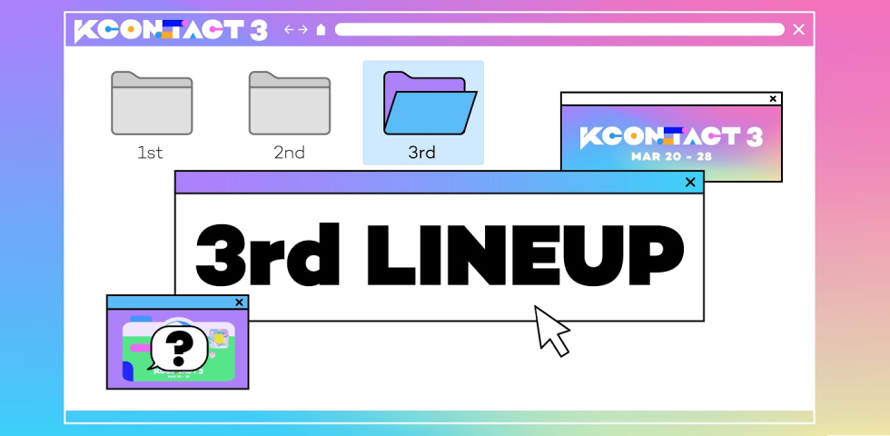 KCON:TACT 3''s 3rd line-up!